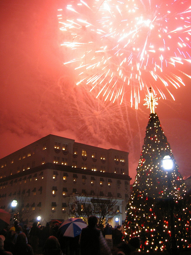New Year's Eve Fireworks in Gettysburg