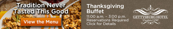 thanksgiving in gettysburg