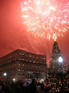 Gettysburg Hotel Fireworks