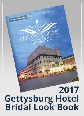 2017 gettysburg hotel wedding look book