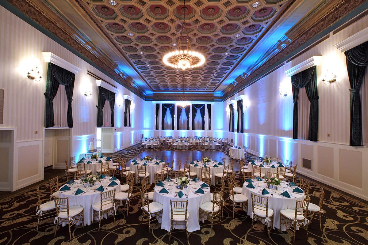Grand Ballroom Social Event At Gettysburg Hotel