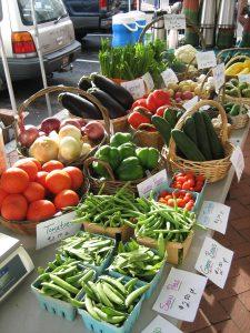 Gettysburg Farmers' Market, located on Lincoln Square