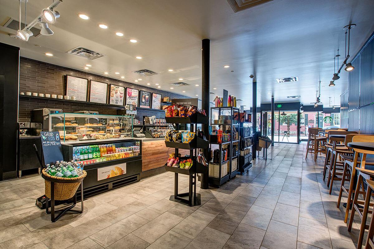 Starbucks On The Square In Gettysburg