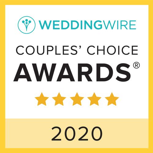 WeddingWire Couples Choice Award 2020